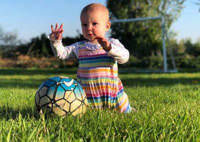 ffionplayingfootball